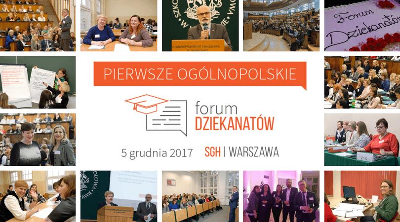 Konferencja w ramach Forum Dziekanatów 2018