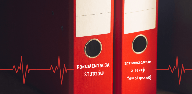 Dokumentacja studiów – sprawozdanie z sekcji tematycznej