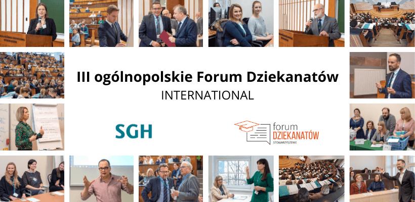 III ogólnopolskie Forum Dziekanatów – pierwsze podsumowanie i materiały