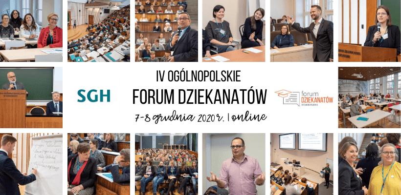 Program IV ogólnopolskiego Forum Dziekanatów